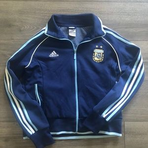Adidas Argentina Team Jacket w/ Messi's Number